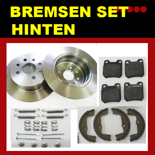 bremsscheiben bremsen kit opel vectra b hinten ebay. Black Bedroom Furniture Sets. Home Design Ideas